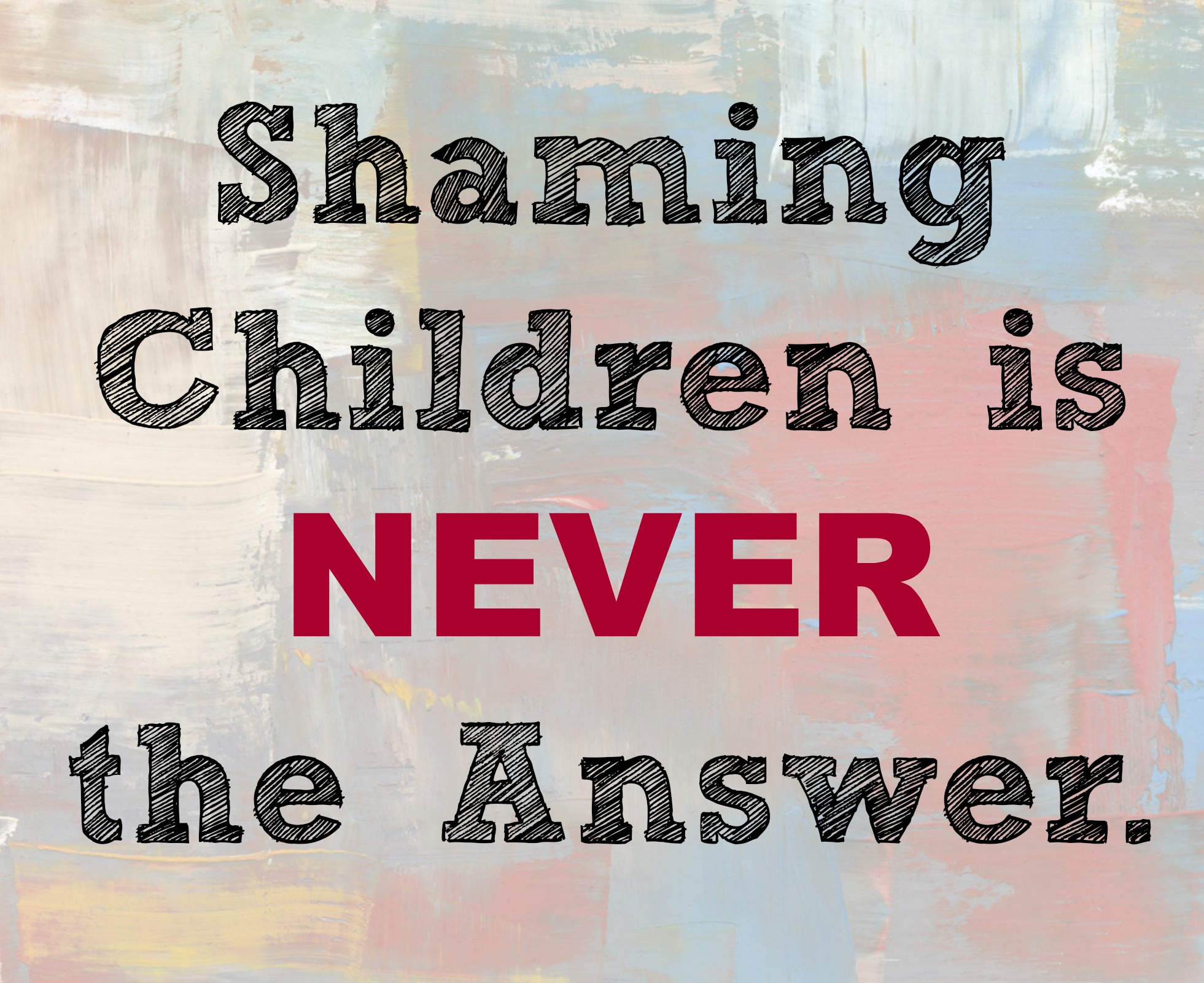 shaming as a form of punishment